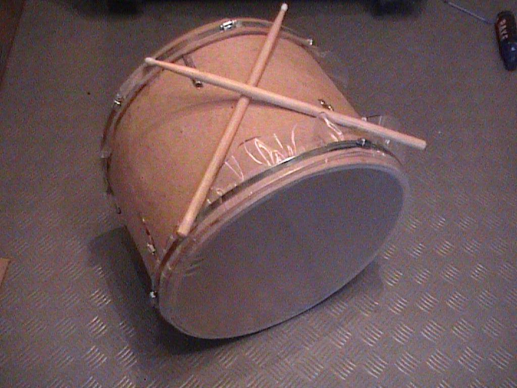 Большой барабан своими руками